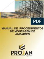 Manual de Procedimentos de Montagem de Andaimes