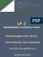 Organizarea sistemului imun