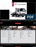 Nissan Cabstar Technical Specs