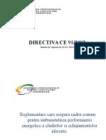 1.Directiva europeana CE 91