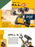 21303 Wall-E Lego Instruction