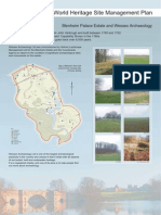 Blenheim Palace World Heritage Site Management Plan