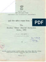 Bombay Minor Mineral Ext Rules-1955