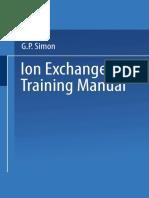 [George P. Simon (Auth.)] Ion Exchange Training Manual