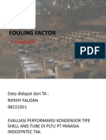 242636510 Fouling Factor Test Pptx