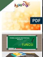 FUNGSI KELAS 8