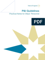 West of England p&i Guidelines