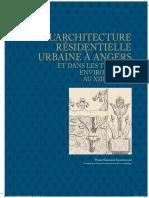 ANGERS Et Environs Arch Civ Urb Dans Saint-Louis Et l'Anjou 2014