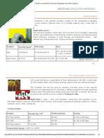 Mineral Wool, Ceramic Wool, Thermocole, Polyurethane Foam (PUF), Maghard