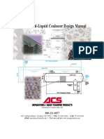 Liquid-liquid Coalescer Design Manual