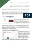 Cómo agregar una firma a tu cuenta de Gmail de Google