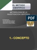 METODO CIENTIFICO -PPT