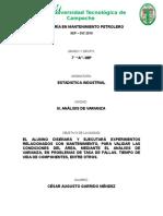 ESTADISTICA INDUSTRIAL CHI CUADRADA