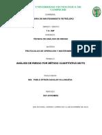 Proyecto Analisis de Riesgo Por Metodo Mixto