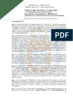 DECRETO MUNICIPAL N° 023/2014