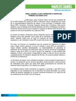 Boletín de Prensa 001- Caprecom EPS