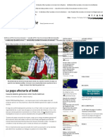 La Papa Afectaría Al Bebé - El Diario de Yucatán