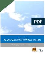 Geo-Estrategia. EL PENTAGONO CONTRA OBAMA