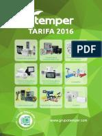 201601 Temper Tarifa 2016