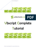 VBScript Tutorial