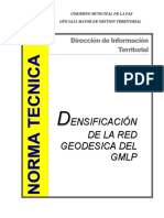 Norma Técnica_Red Geodesica GMLP