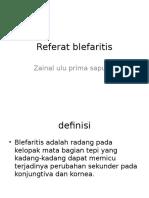 Referat blefaritis