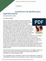 ConJur - Heloisa Estelli...Desafios Para Dogmática Penal
