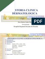 Clase 2 - Historia Clínica Dermatológica