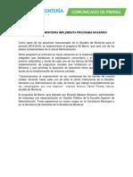 ALCALDÍA DE MONTERÍA IMPLEMENTA PROGRAMA MI BARRIO