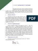 Java Class Notes1