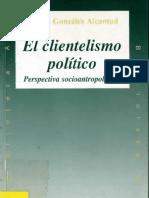 El Clientelismo Politico