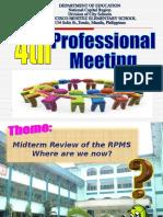 Prof. Meeting Programme
