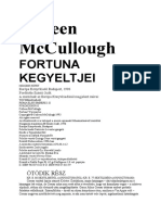 Colleen McCullough - 3. Fortuna Kegyeltjei 2.