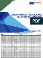 Convocatorias y Licitaciones del Gobierno Municipal de Matamoros DICIEMBRE 2015