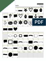 Flavor Frames Six Map
