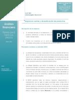 Análisis Financiero de FIFCO - Setiembre 2015