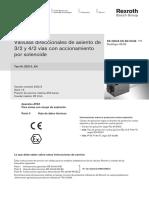 Valvulas Direccionales 3-2 y 4-2 a Solenoide