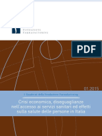 Quaderno Gennaio 2015 Sintesi Rapporto