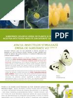 Substanțe Volatile Emise de Plante