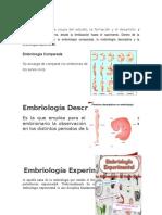 La Embriología