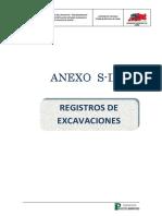 Anexo S-II Registros Excavacion