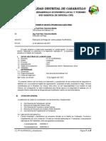 INFORME 20-2015 Estimacion de Riesgo de Pampa Huarangal