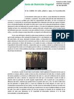 Utilidad e Importancia de Los Análisis de Suelo, Planta y Agua, En La Producción Agrícola