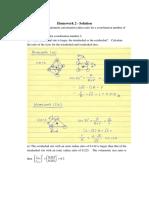 Homework 2 - Solution