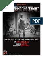 Conquering the Deadlift