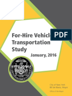 For Hire Vehicle Transportation Study