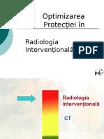 Optimizarea Protectiei in Radiologia Interventionala