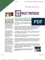Wiley Protocol Consumer Newsletter September 2009