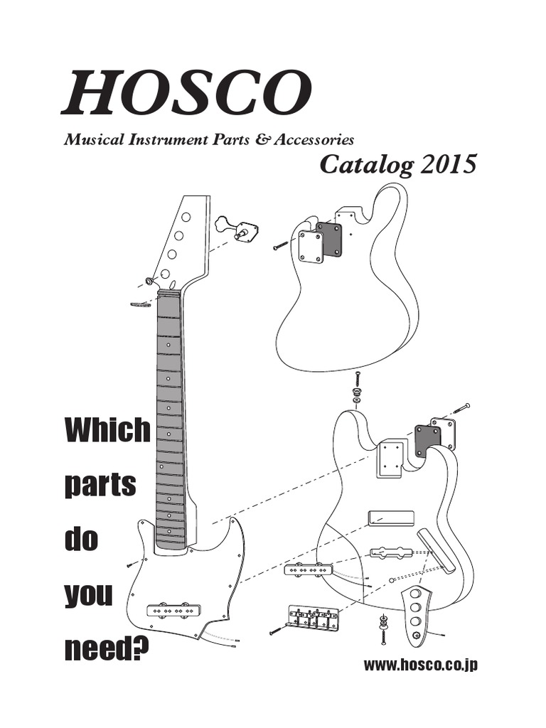 Hosco Polyester Film Capacitors for Guitar Tone Circuits 0.047uF