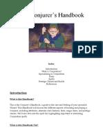 Echodork's Conjurer Handbook